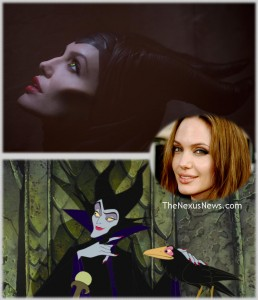 Contoured Malificent, Angelina, Animation