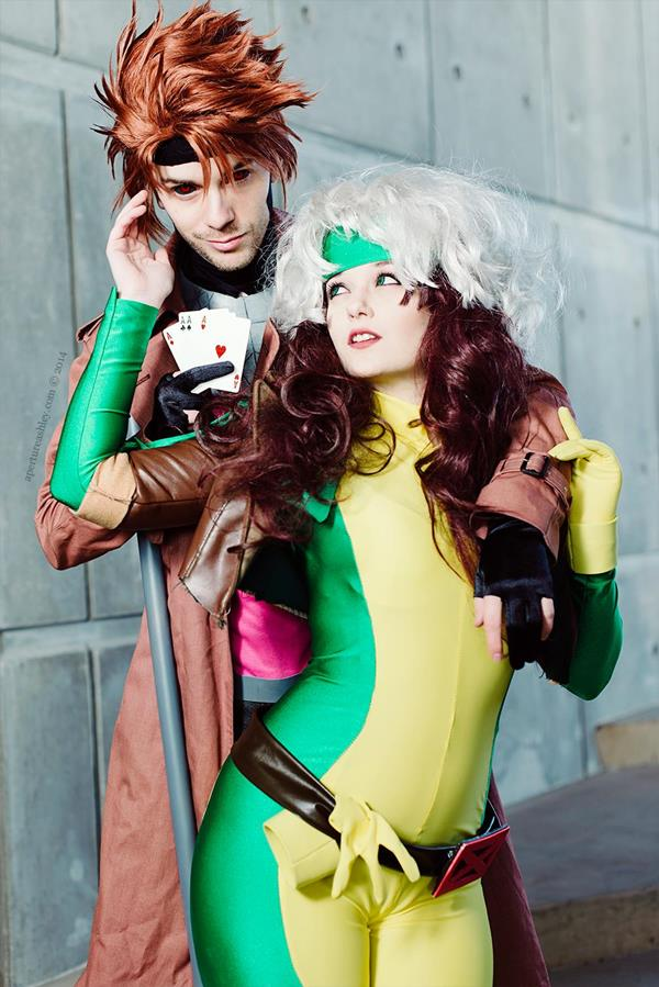 Gambit and Rogue ©ApertureAshley
